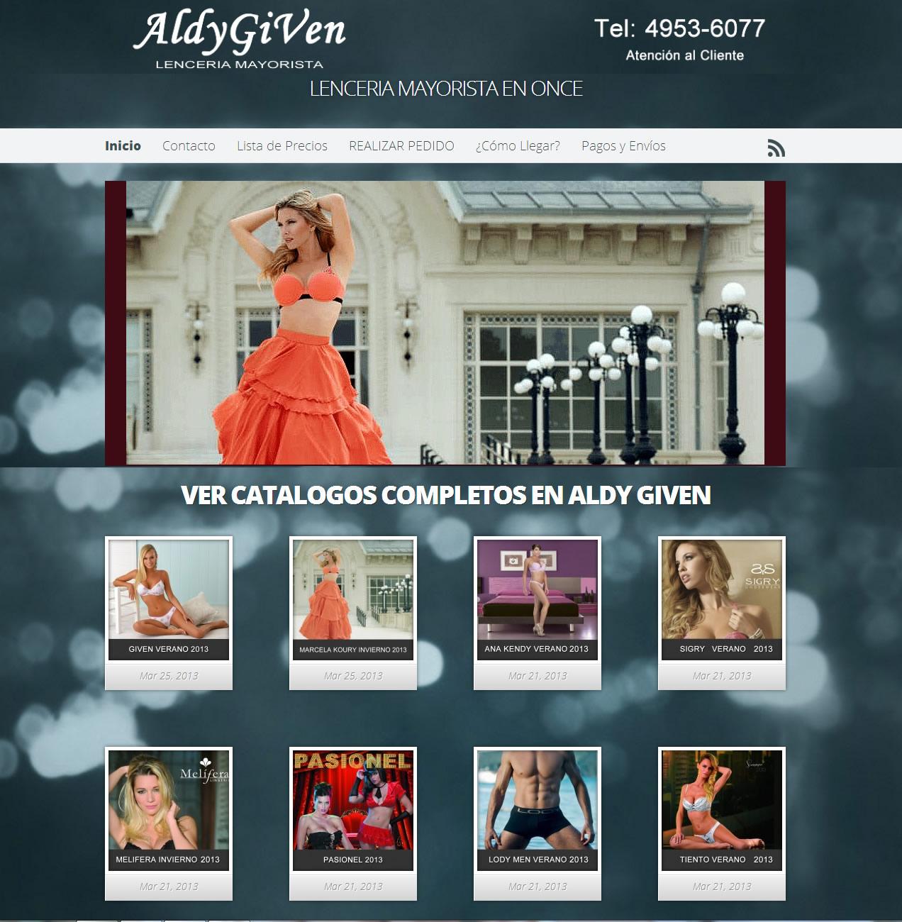 Aldy Given Invierno 2013