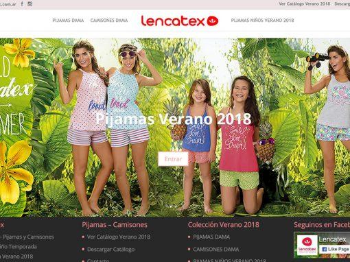 Lencatex Verano 2018