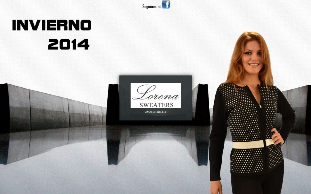 Lorena Sweaters Invierno 2014