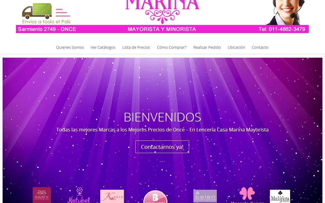 Lencería Casa Marina
