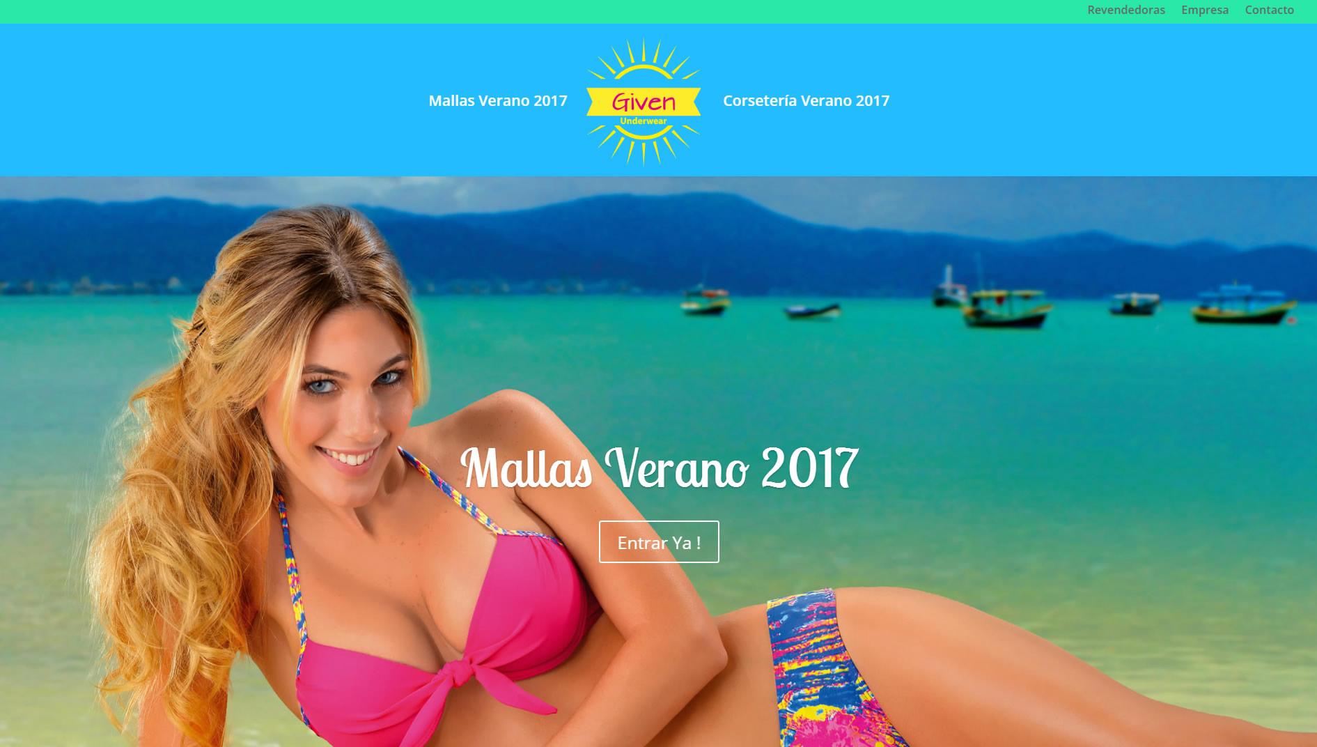 Lenceria Given Verano 2017